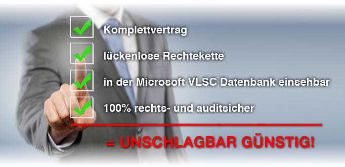 Gebrauchtsoftware von Microsoft