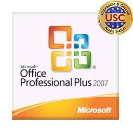Micrsosoft Offce 2007 Professional Plus - Volumenlizenz
