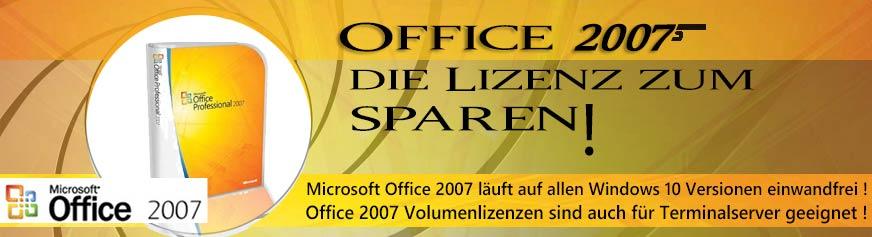 Office 2007 - Bewährt - Gut - Günstig +++ Bei U-S-C immer ab Lager lieferbar +++ Basic Edition - die günstige Lösung für den einfachen Anwender - Small Business Edition - für den Profi mit Powerpoint und Publisher - Professional Edition - mit Access - der Datenbankanwendung - Office 2007 läuft auch auf Windows10 ohne Probleme!