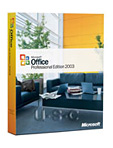 Microsoft Office 2003 Professional, Upgrade, Retail