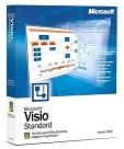 Microsoft Visio 2002 Standard, Retail, Deutsch