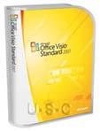 Microsoft Visio 2007 Standard, Vollversion, Retail