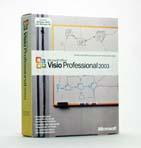 Microsoft Visio 2003 Standard, Vollversion, Retail