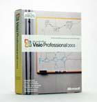Microsoft Visio 2003 Standard, Vollversion, Retail